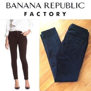 BR Skinny Fit Corduroy pants in black size 27/4